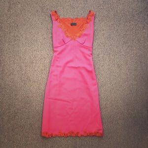 Fun, flirty vintage pink sheath dress